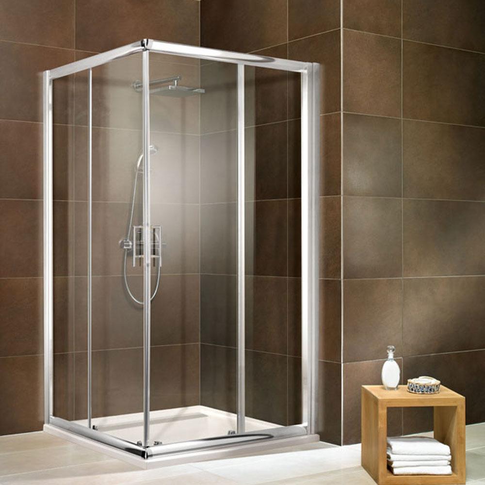 duschkabine dusche duschabtrennung eckeinstieg echtglas 80x80 90x90 100x100 ebay. Black Bedroom Furniture Sets. Home Design Ideas