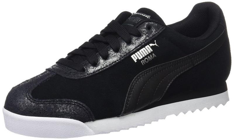 Details zu Puma Roma Classic Met Safari WN 364142 Sneaker Damen black *UVP 89,99