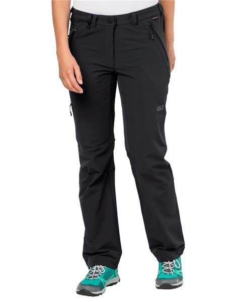 Details zu Jack Wolfskin Activate XT Pants Women 1503633 Softshell Hose black *UVP 99,99