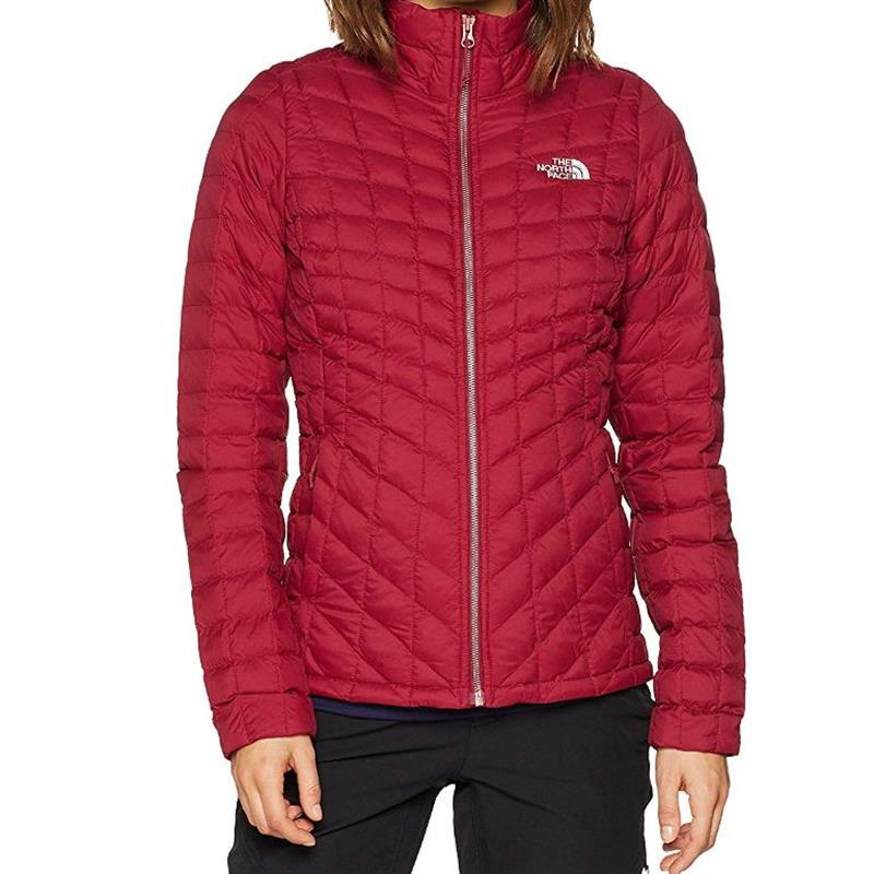 Details zu The North Face Thermoball FZ JKT T93BRL Damen rumba red *UVP 209,99