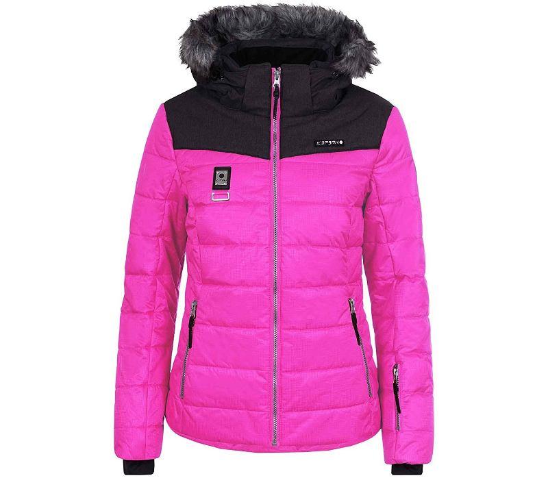 Icepeak Kendra Skijacke Outdoorjacke Damen Hellgrau *UVP 169,99