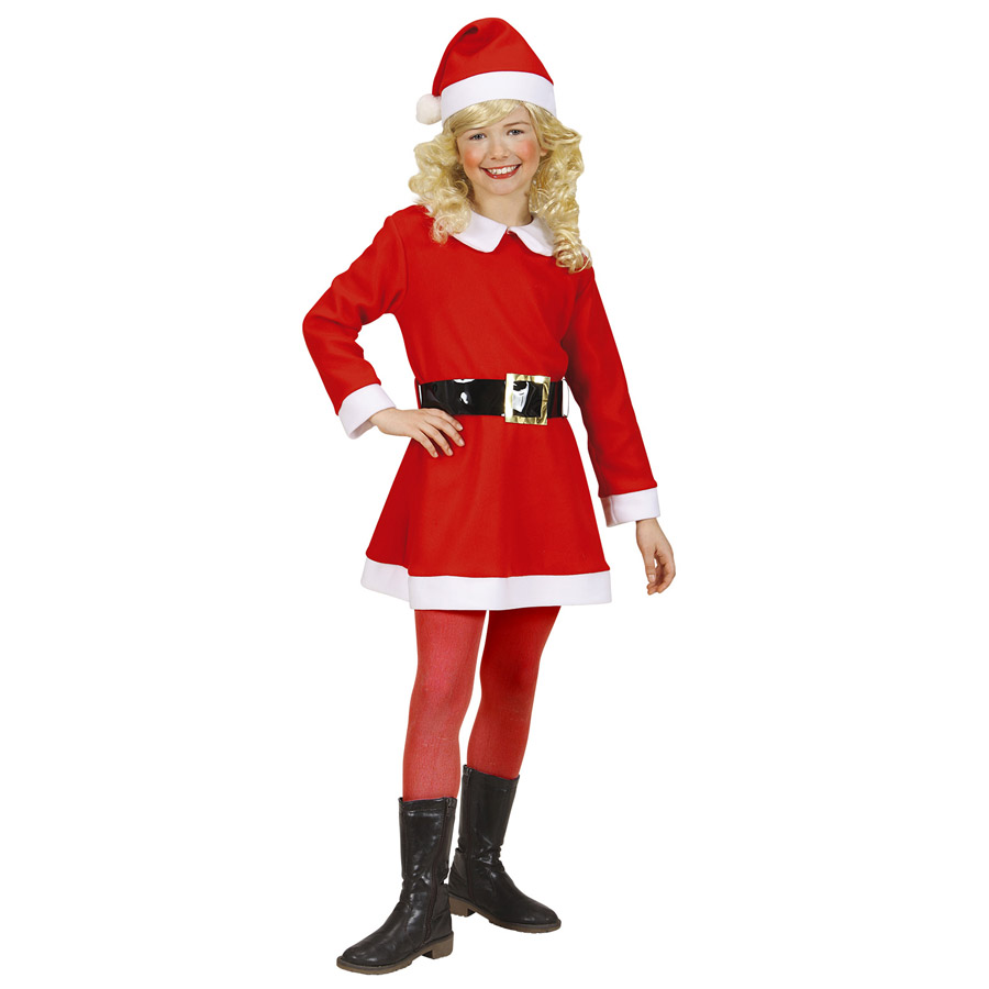 weihnachtsmann kost m kinder weihnachtsfrau kleid m dchen. Black Bedroom Furniture Sets. Home Design Ideas