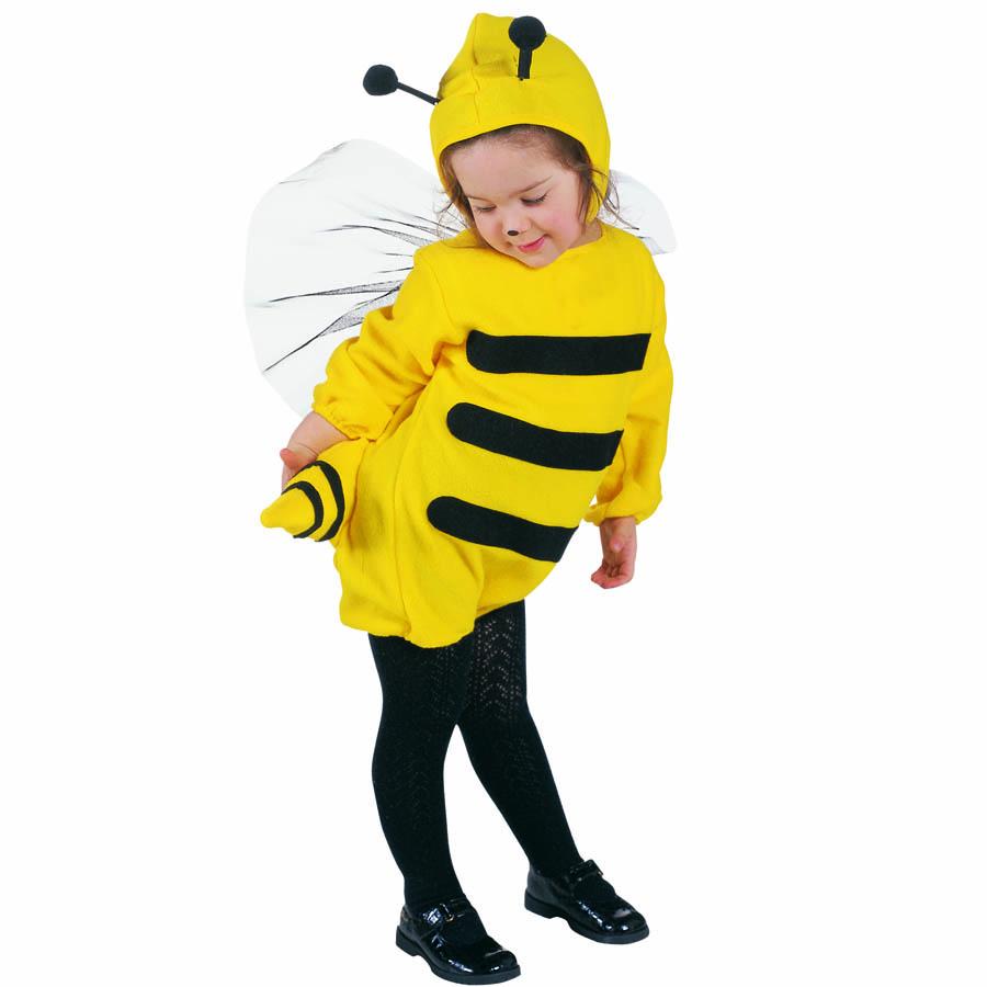 Biene Kostum Kinder Karneval Fasching Hummel Jungen Madchen Flugel