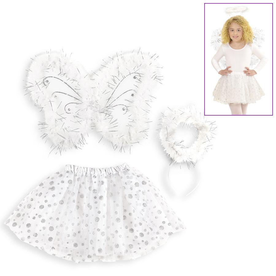 Engel Kostum Kinder Karneval Fasching Party Zubehor Madchen Rock