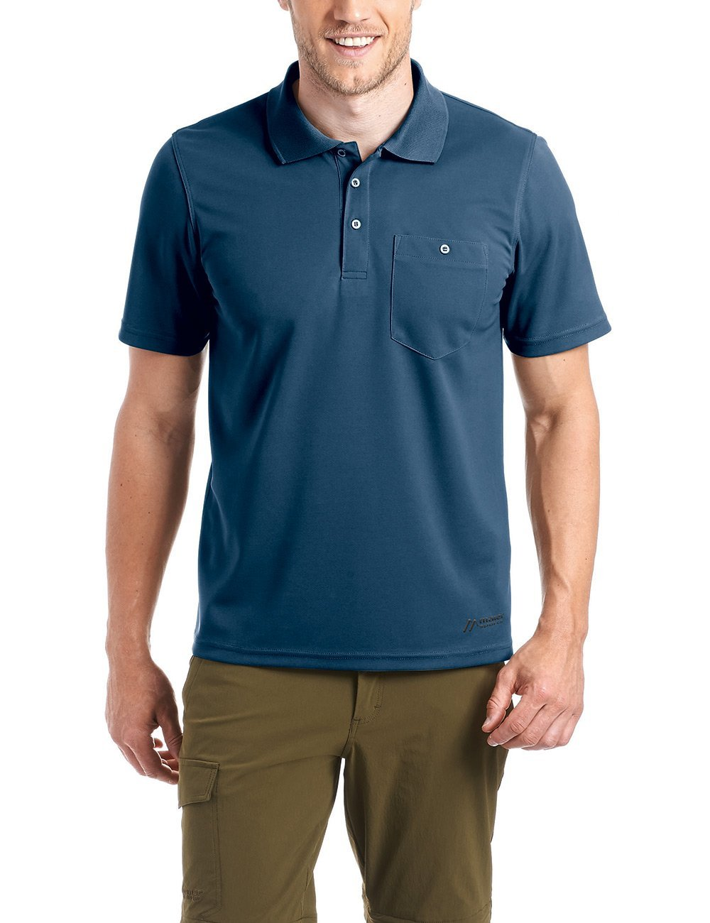 Maier Sports Herren Polo Kalatti - Fb. Aviator 48