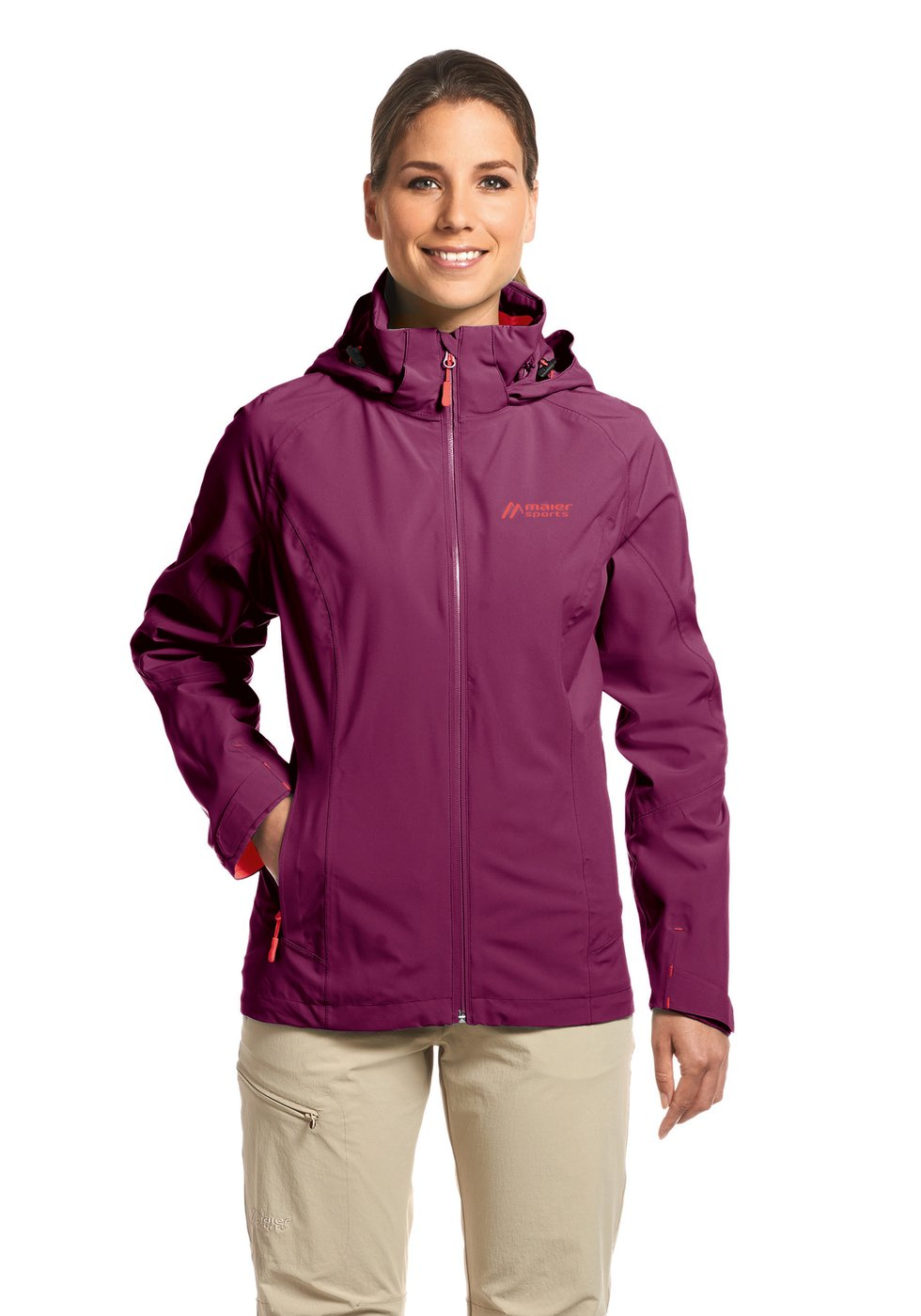 Maier Sports Damen Funktionsjacke Thordis - dark purple - 46