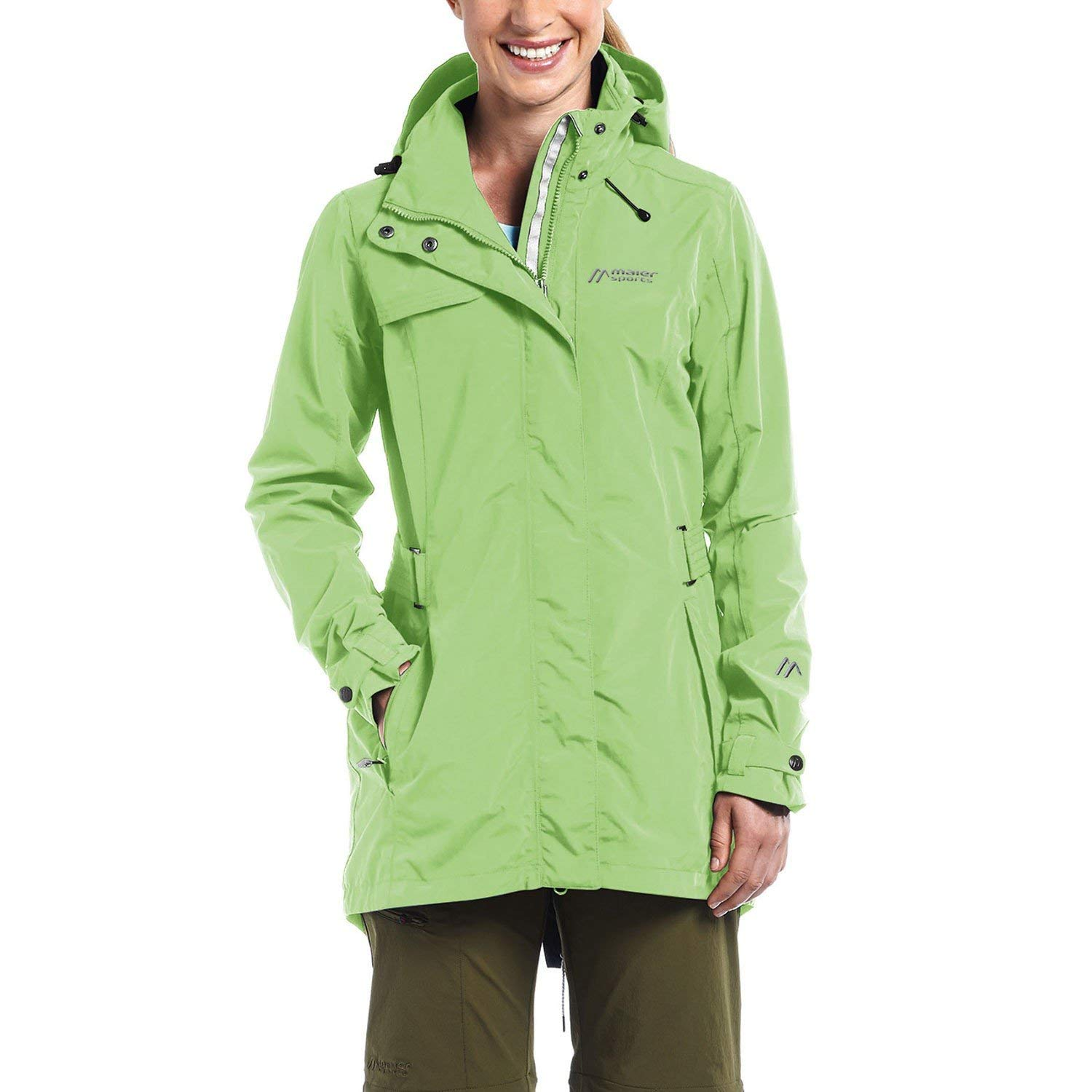 Maier Sports Damen Funktionsjacke Alva – summergreen - 50