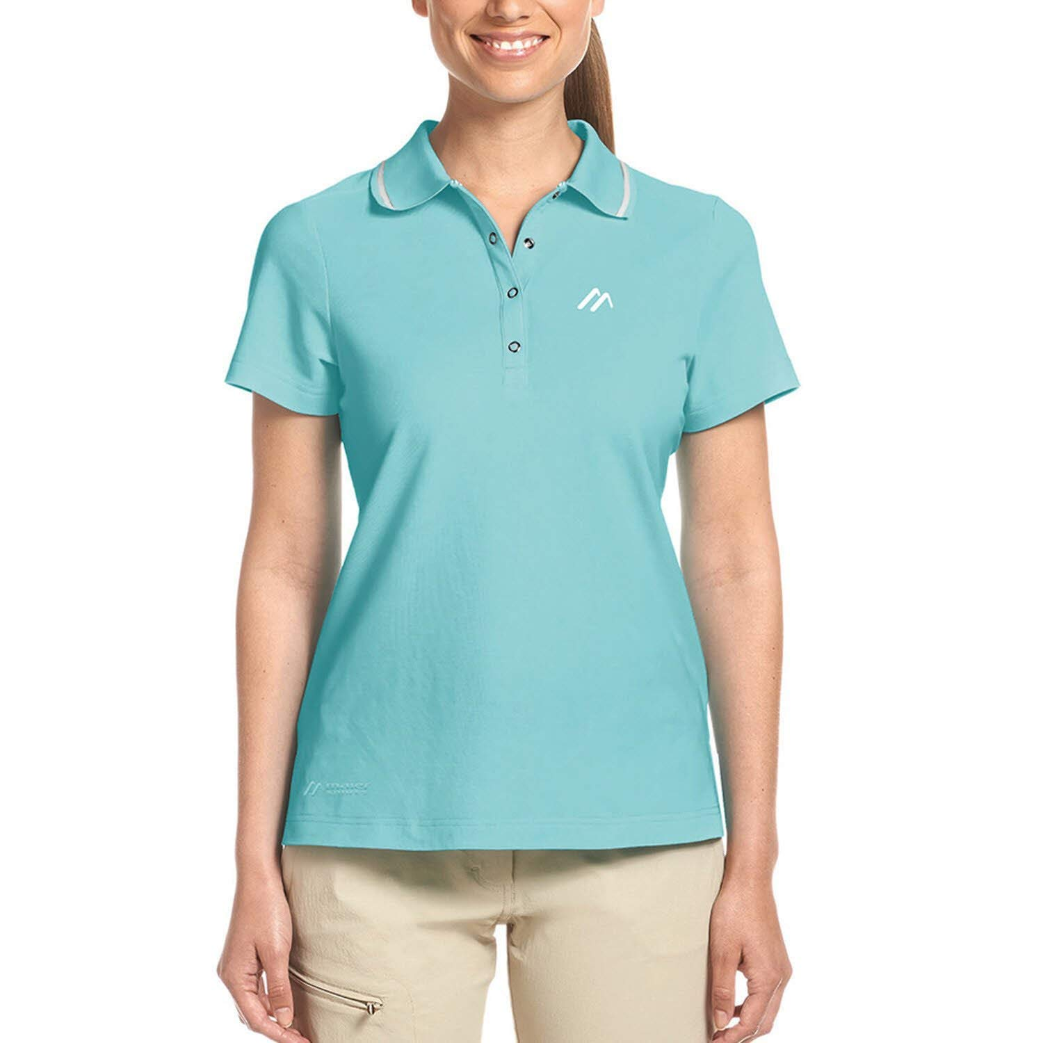 Maier Sports Damen Comfort Polo - radiance -