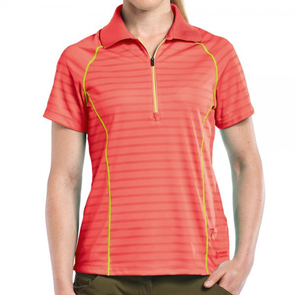 Maier Sports Damen  Funktionspolo Schleswig - cayenne -