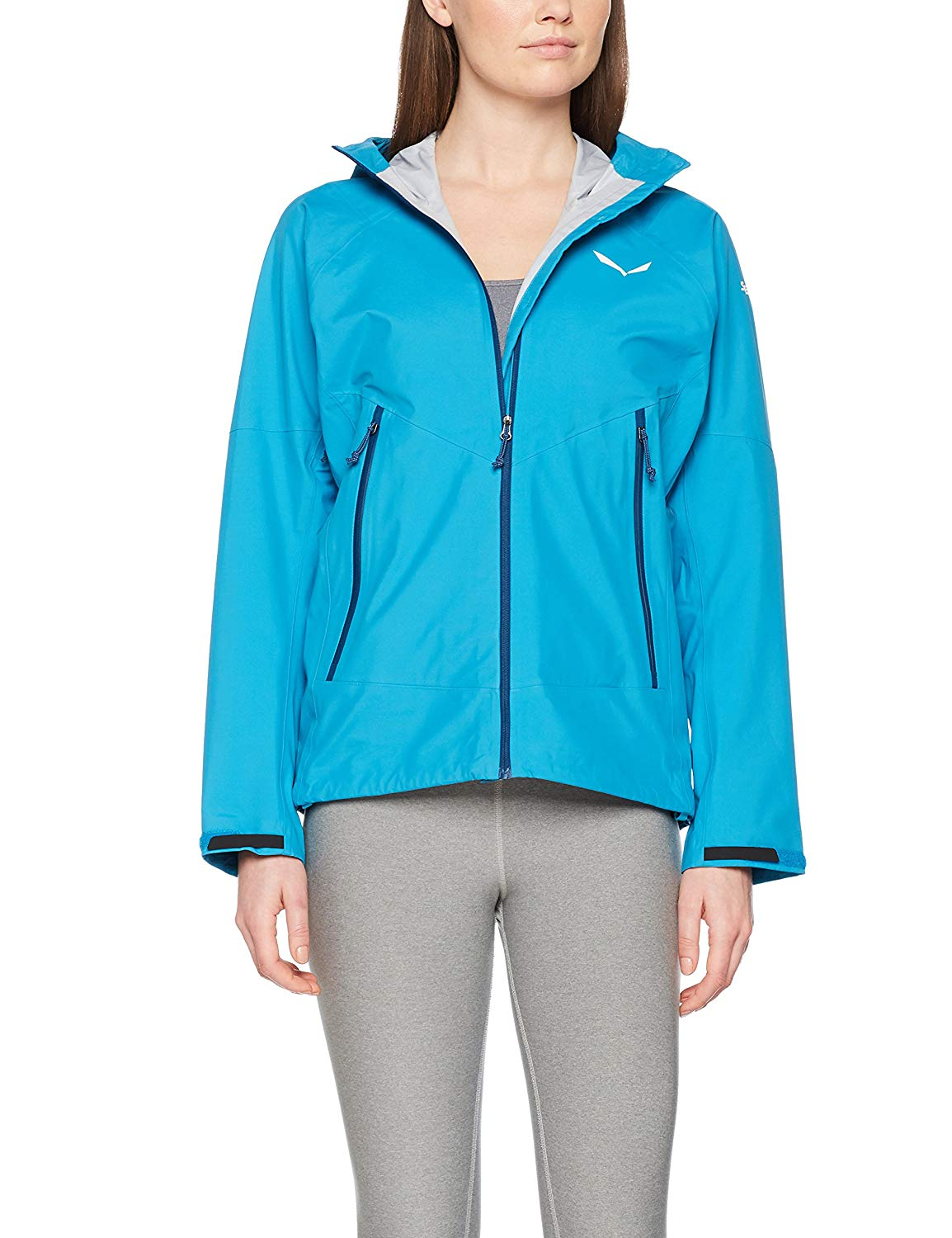 Salewa Damen Sesvenna Softshell Jacke - blue caneel bay -