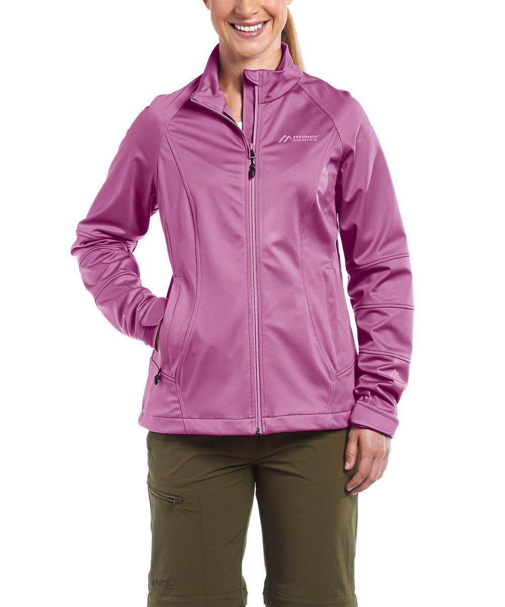 Maier Sports Damen Jacke Granada – red violet -