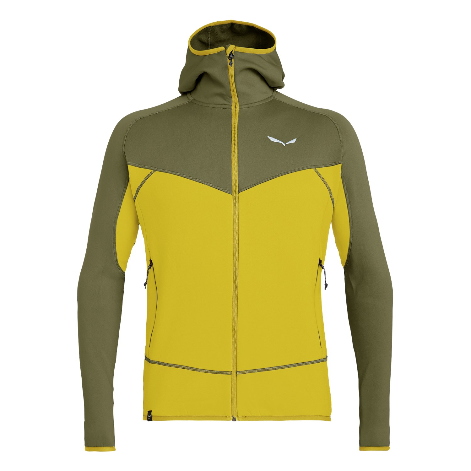Salewa Puez 3 Polarlite Full-Zip Herren Hoody Fb. kamille/yellow 2XL