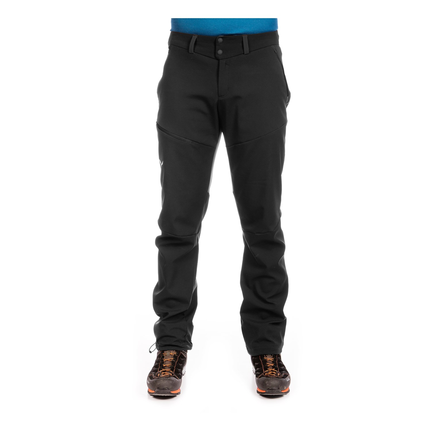 Salewa Puez Merrick 2 Stormwall Softshell Hose Fb. black-out
