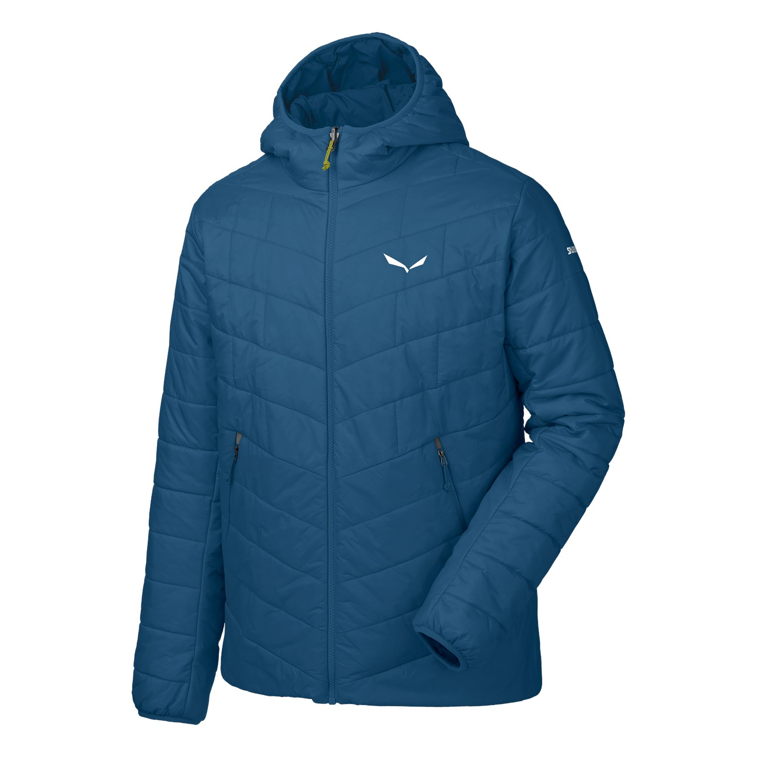 Salewa Fanes Tirolwool® Celliant® Hooded Jacke poseidon XL