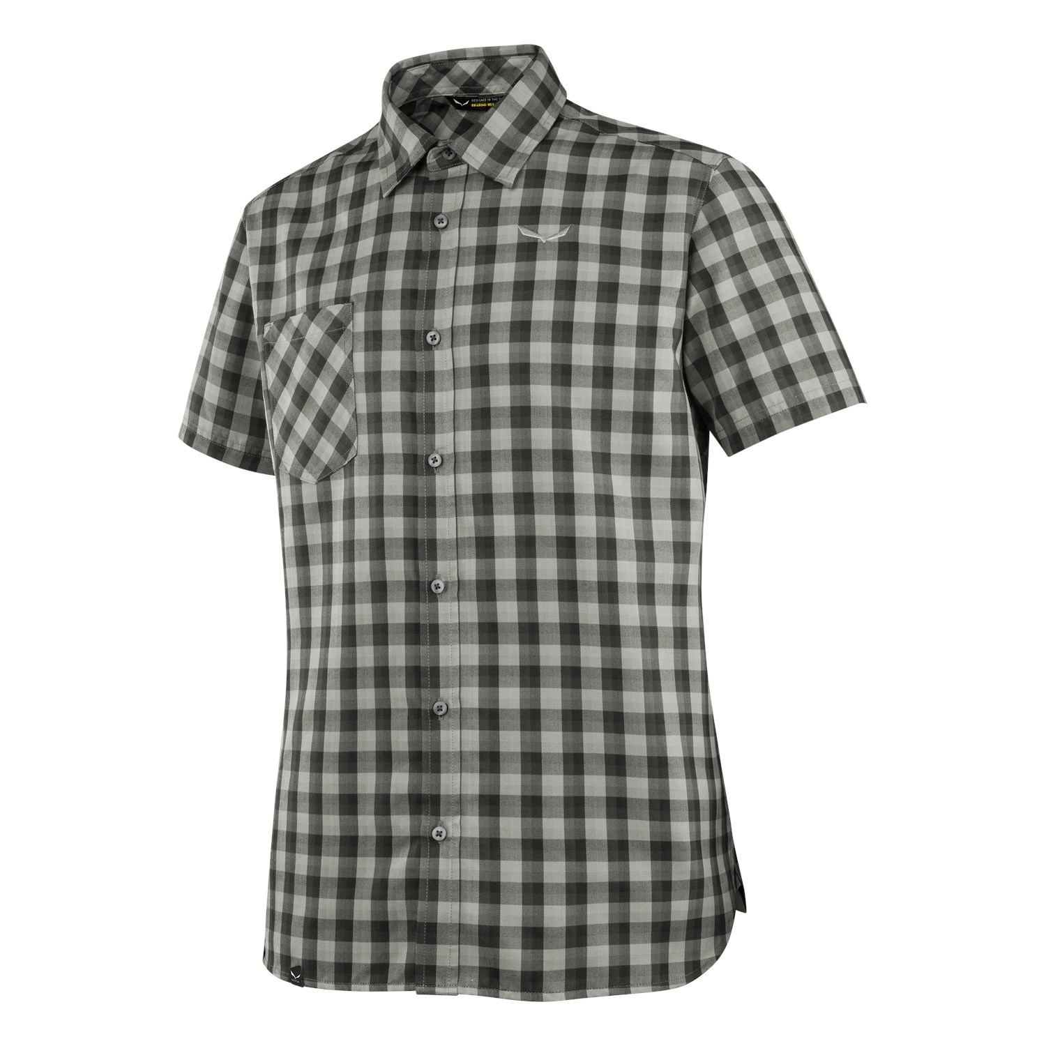 Salewa Herre Dry'ton Short Sleeve Herren Hemd Fb. blackout XXXL
