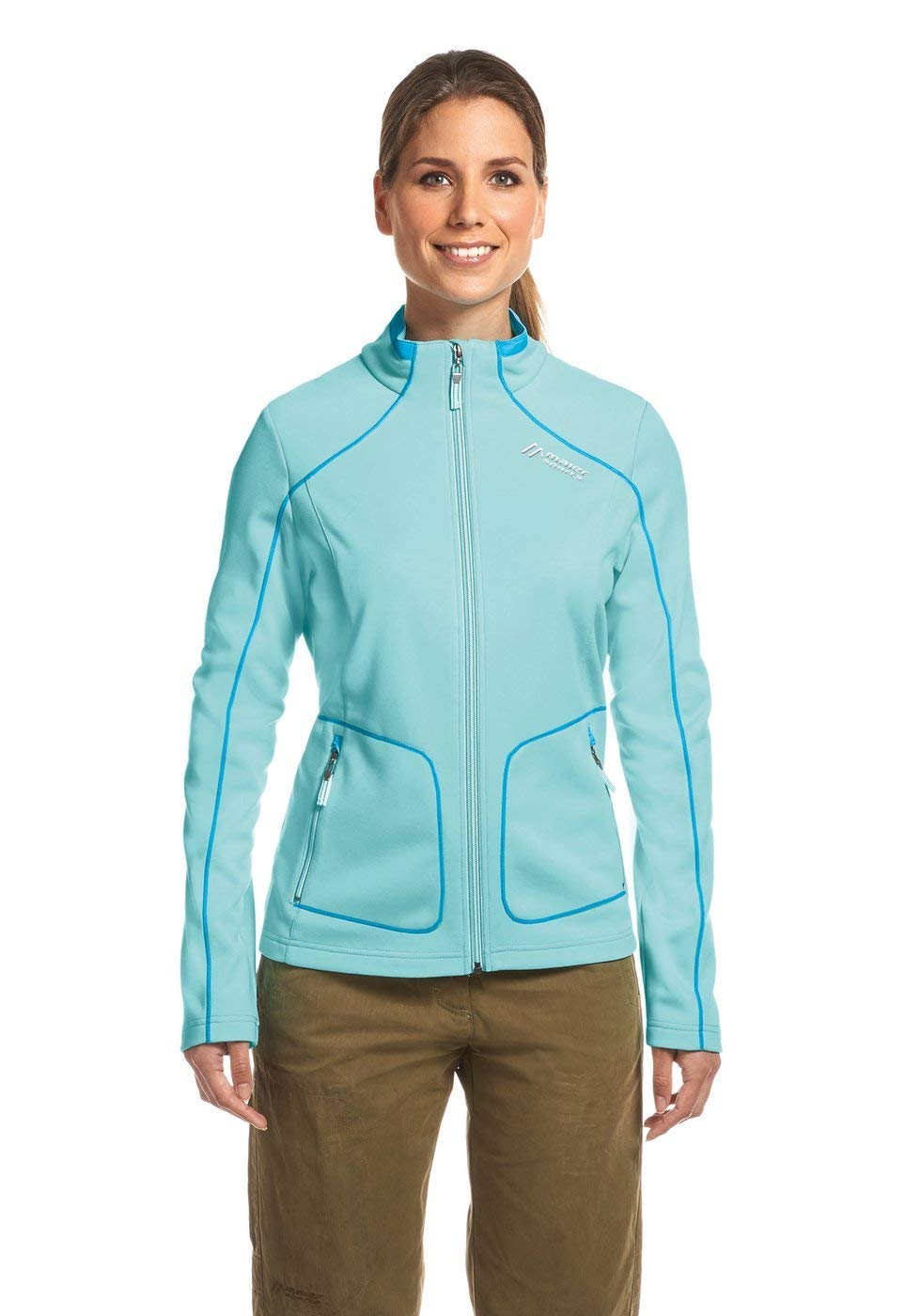 Maier Sports Damen Fleecejacke Colwyn - radiance - 42