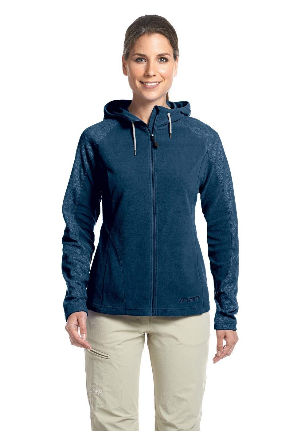 Maier Sports Damen Fleecejacke Quadra - aviator - 40