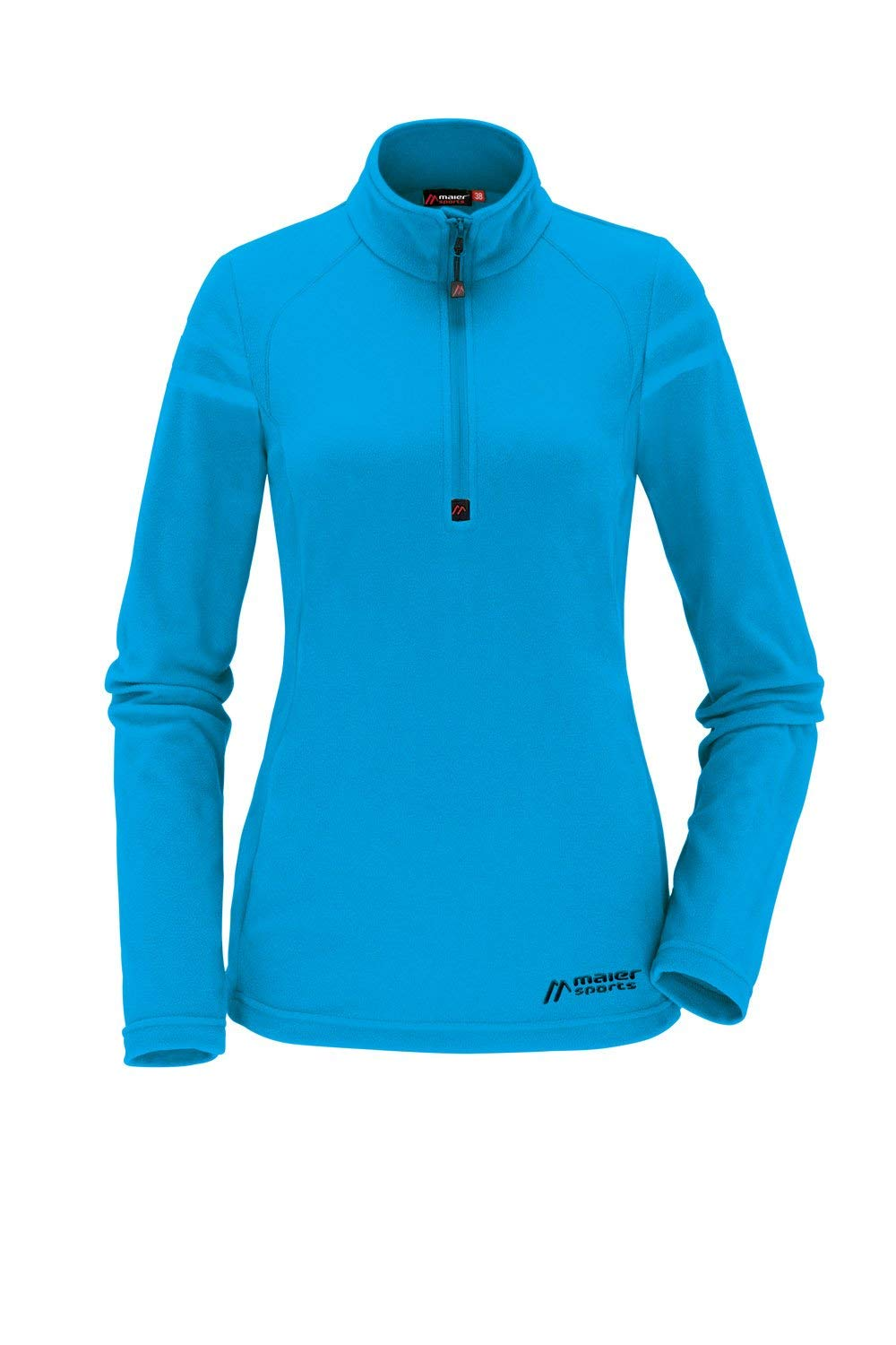 Maier Sports Damen Fleecerolli Greta peacock blue 42