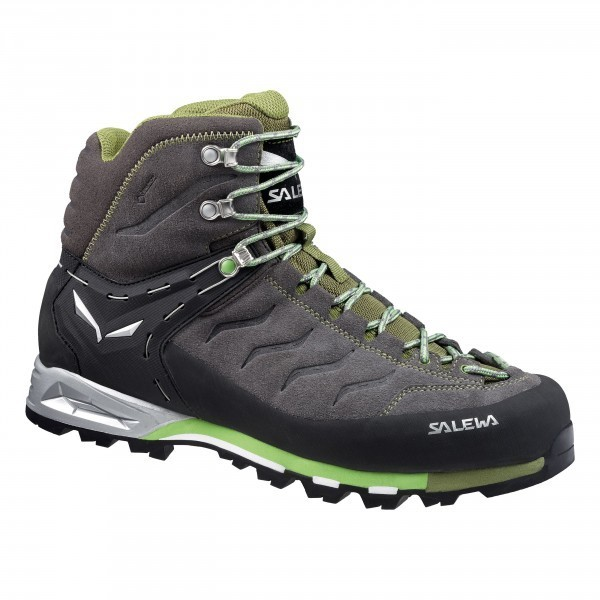 Salewa MTN Trainer Mid GTX Fb. pewter/emerald Gr. 11,5