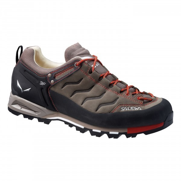 Salewa MTN Trainer Low Leather Schuhe Fb. bungeecord/firebrick