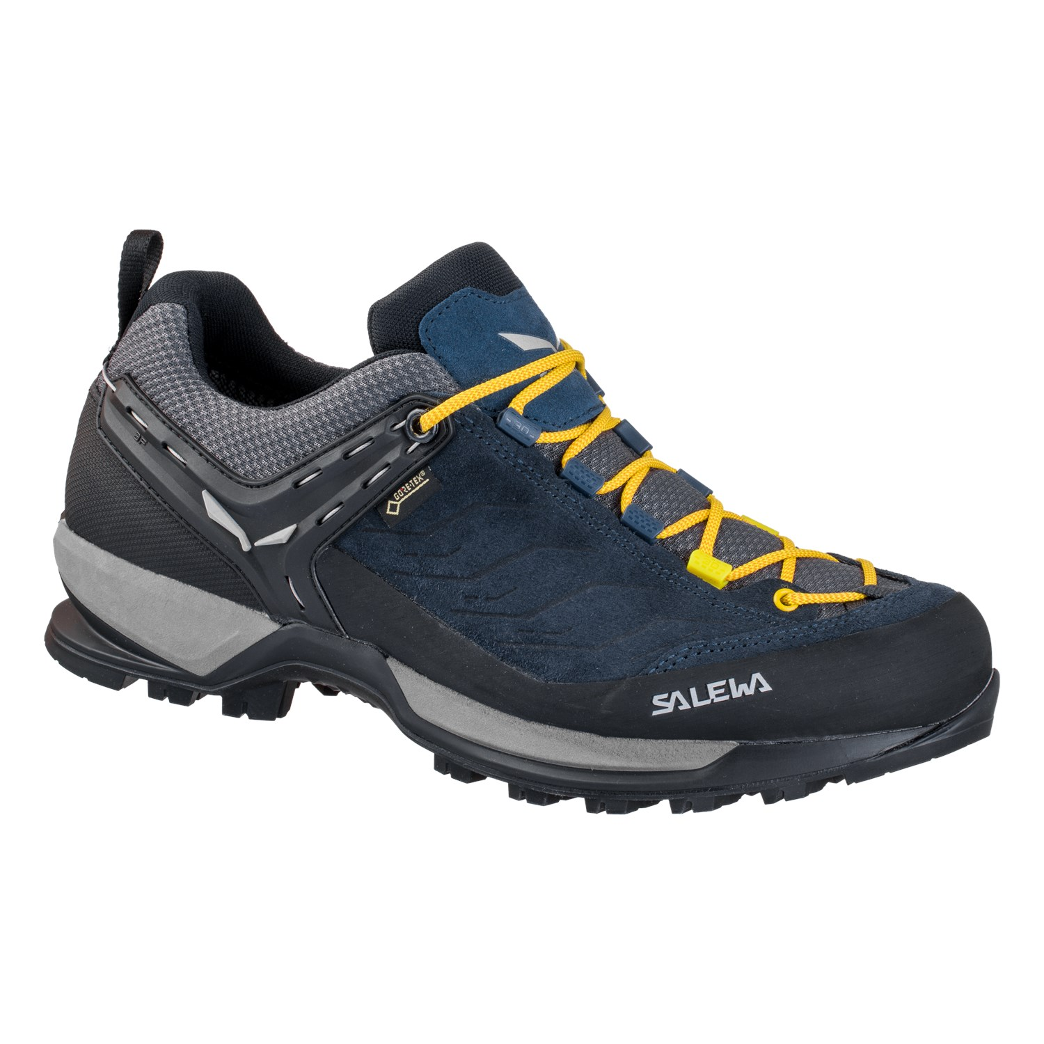 Salewa MTN Trainer GTX Herren Schuhe Fb. night black/kamille