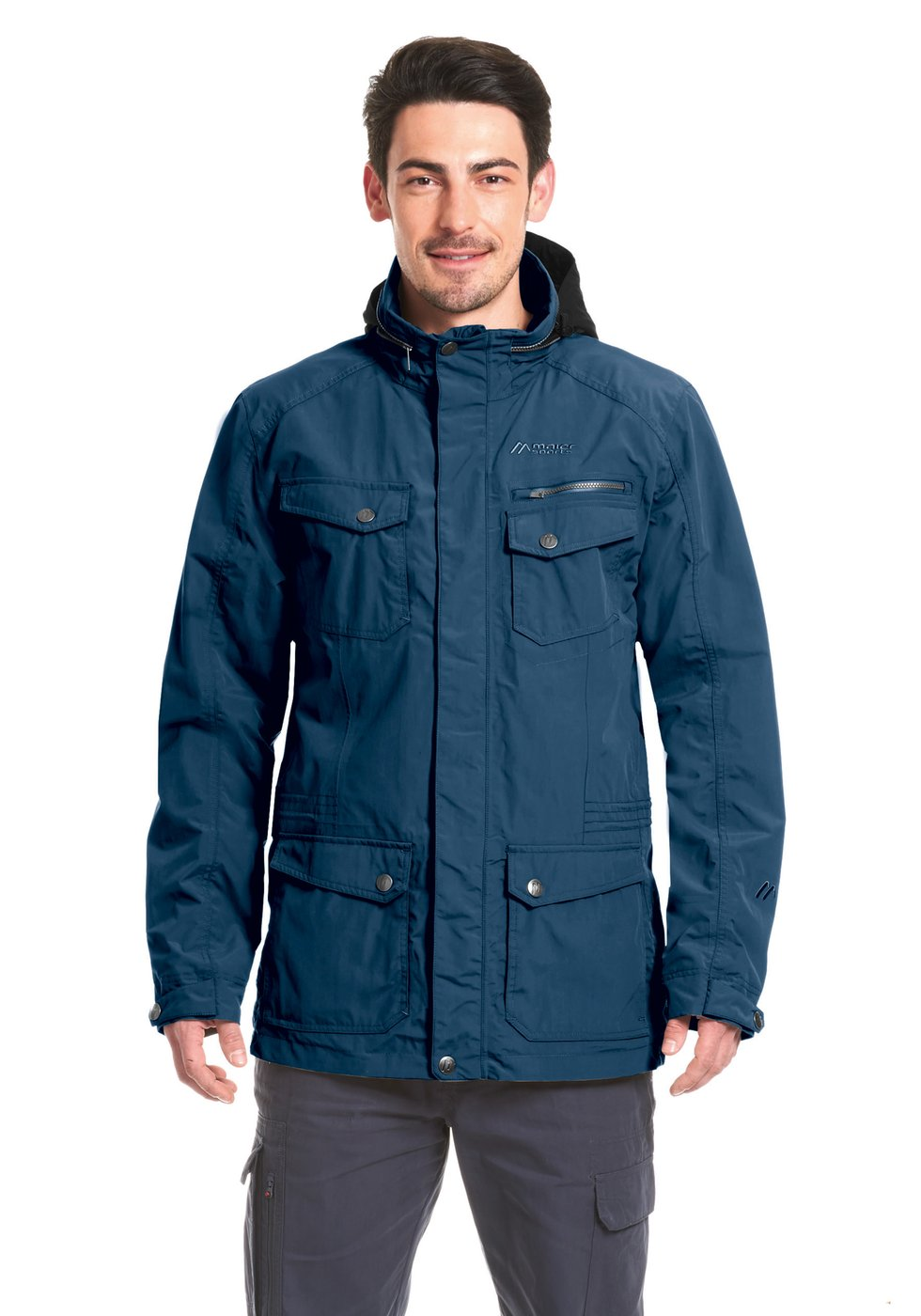 Maier Sports Herren Funktionsparka Clifden Parka M teak 52