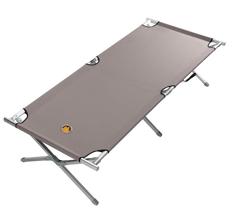 Grand Canyon Camping Bed  Feldbett Grau in zwei Größen