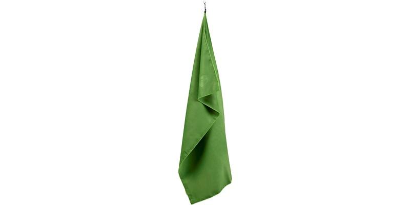 Nordisk Suede Towel - Mikrofaserhandtuch - grün - Größe M