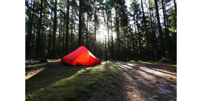 Nordisk Telemark Lightweight 2-Personen Zelt - burnt-red