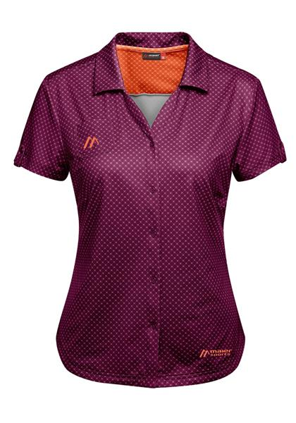 Maier Sports Damen Funktionsbluse Lleyn