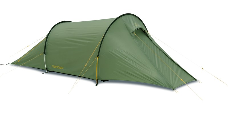 Nordisk Halland 2 Personen-Zelt - dusty-green