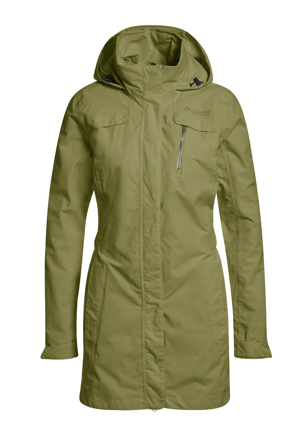 Maier Sports Damen Funktionsjacke Beaumaris - capulet olive - 38