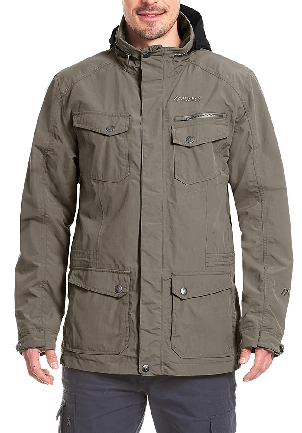 Maier Sports Herren Funktionsparka Clifden Parka M teak