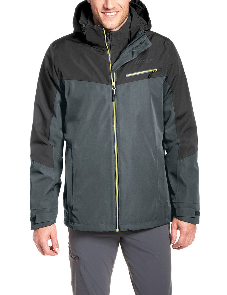 Maier Sports Corvo DUO Doppeljacke graphite 50
