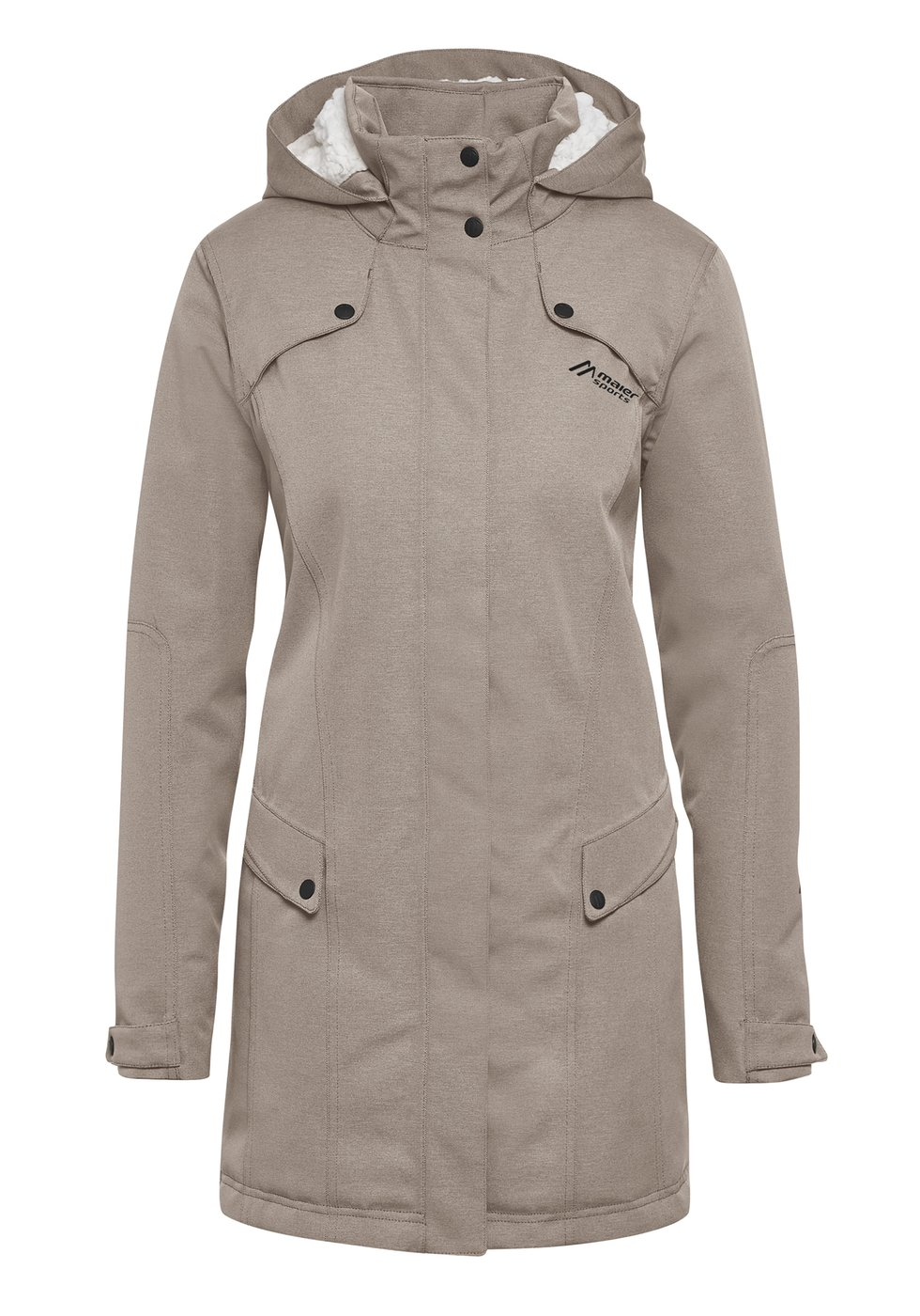 Maier Sports Damen Yalca Coat Wintermantel