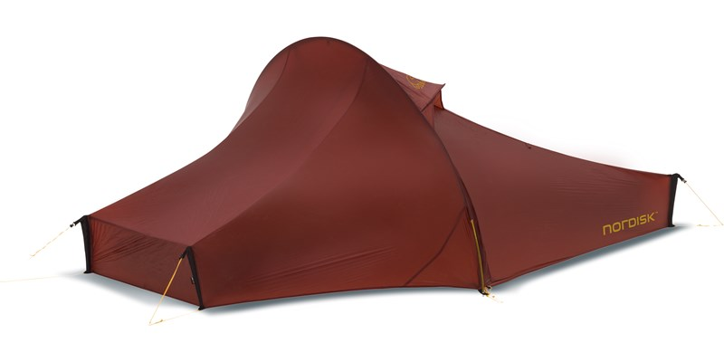 Nordisk Telemark Lightweight 2-Personen Zelt - burnt-red