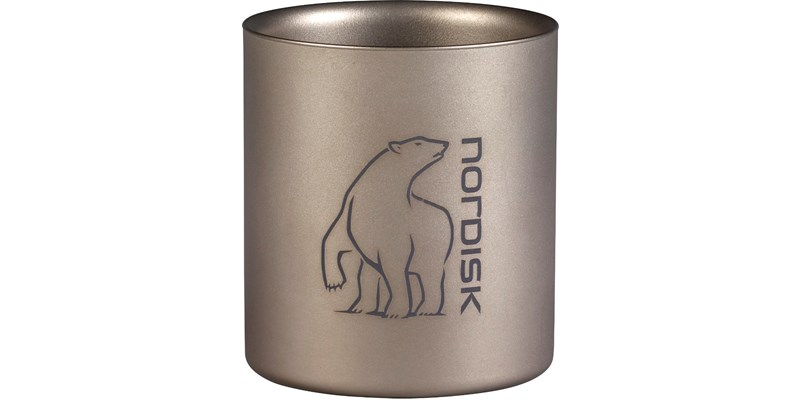 Nordisk Titan double wall Becher 220ml