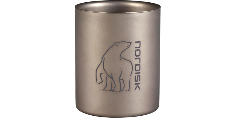 Nordisk Titan double wall Becher 450 ml