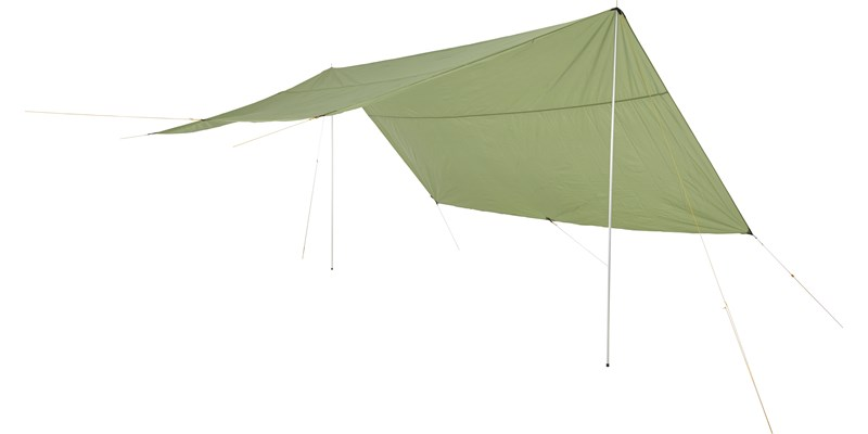 Nordisk Voss 20 PU Tarp - dusty-green