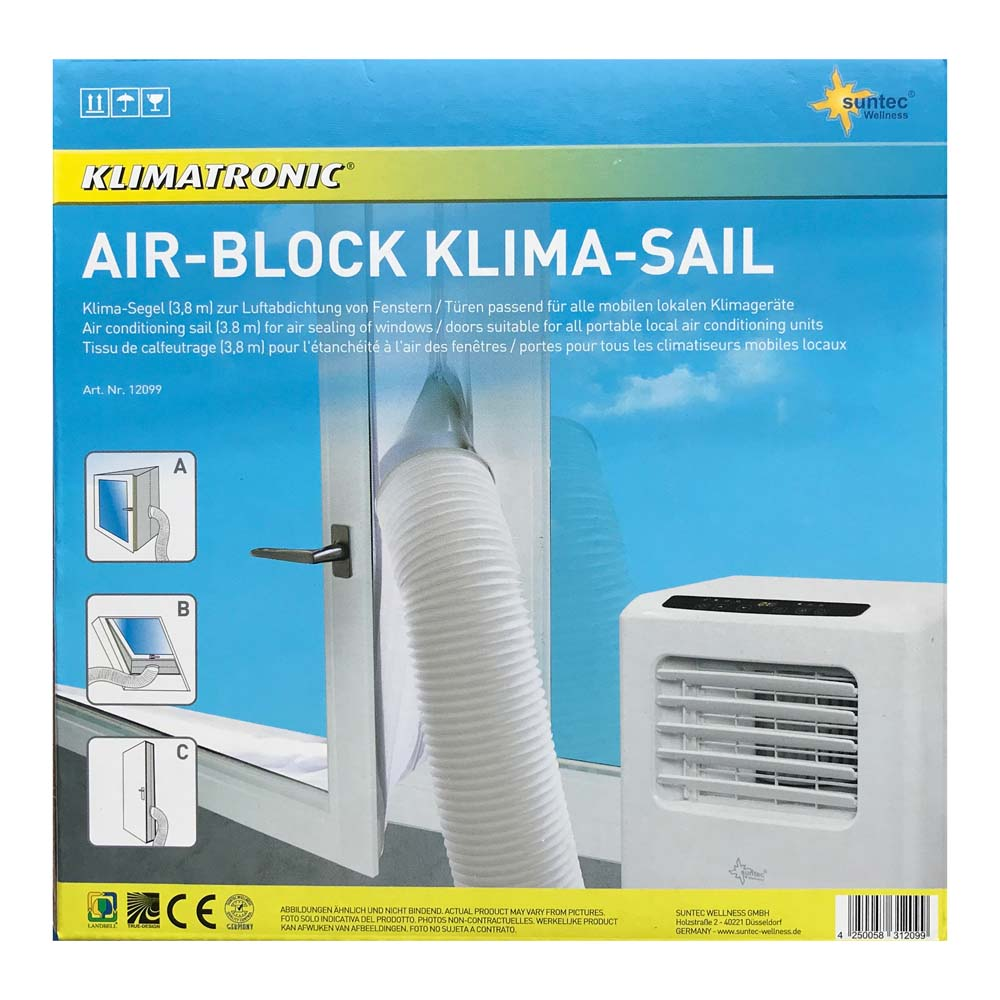 SUNTEC Air Block Klima Sail Klimasegel