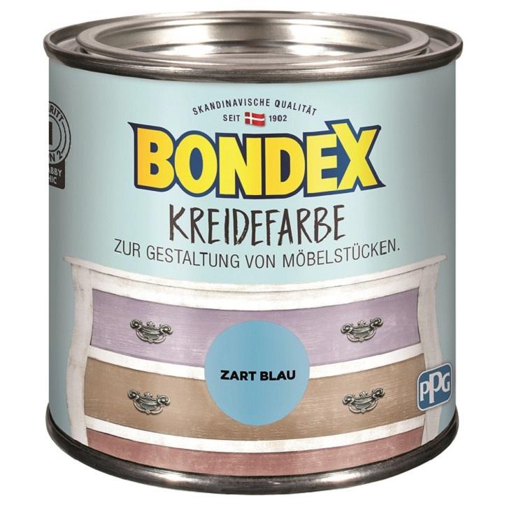 Bondex Kreidefarbe 0,5 L zart blau