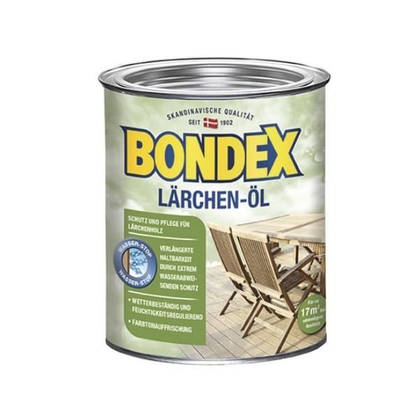 BONDEX Lärchen Öl 7122 750ml Holzschutz Holzöl Holzschutz