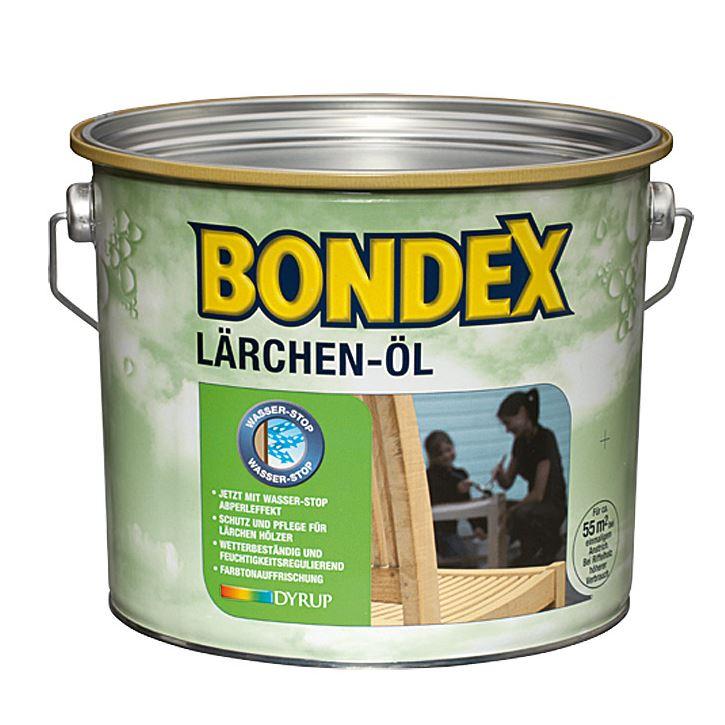 BONDEX Lärchen Öl 2,5 Liter Holzschutz aussen