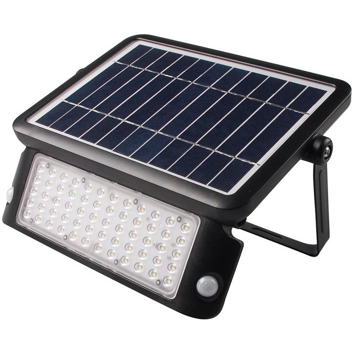 LED Solar Sensor Akku Außenleuchte mit Sensor und Bewegungsmelder