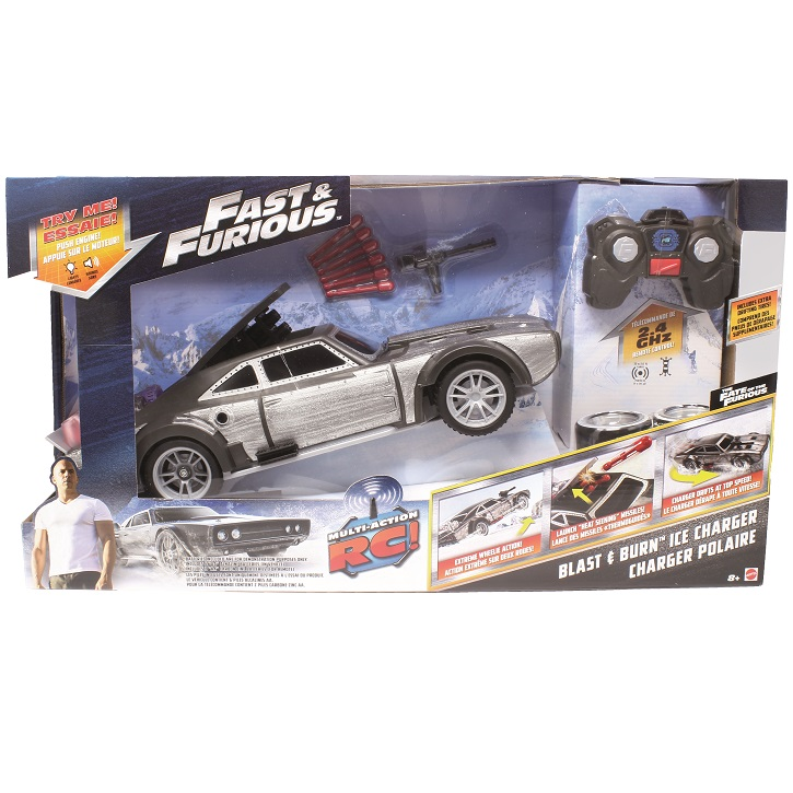 The Fast & Furious RC - ferngesteuertes Spielzeugauto