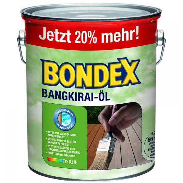 BONDEX Bangkirai Öl 3 Liter 7121 Holzschutz aussen Pflege