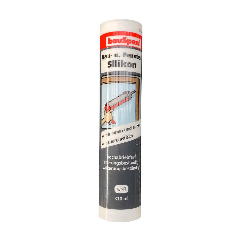 bauSpezi Bau- und Fenstersilikon 310 ml grau