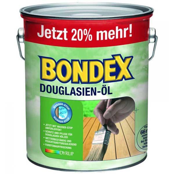 BONDEX Douglasien Öl 3 Liter Holzschutz