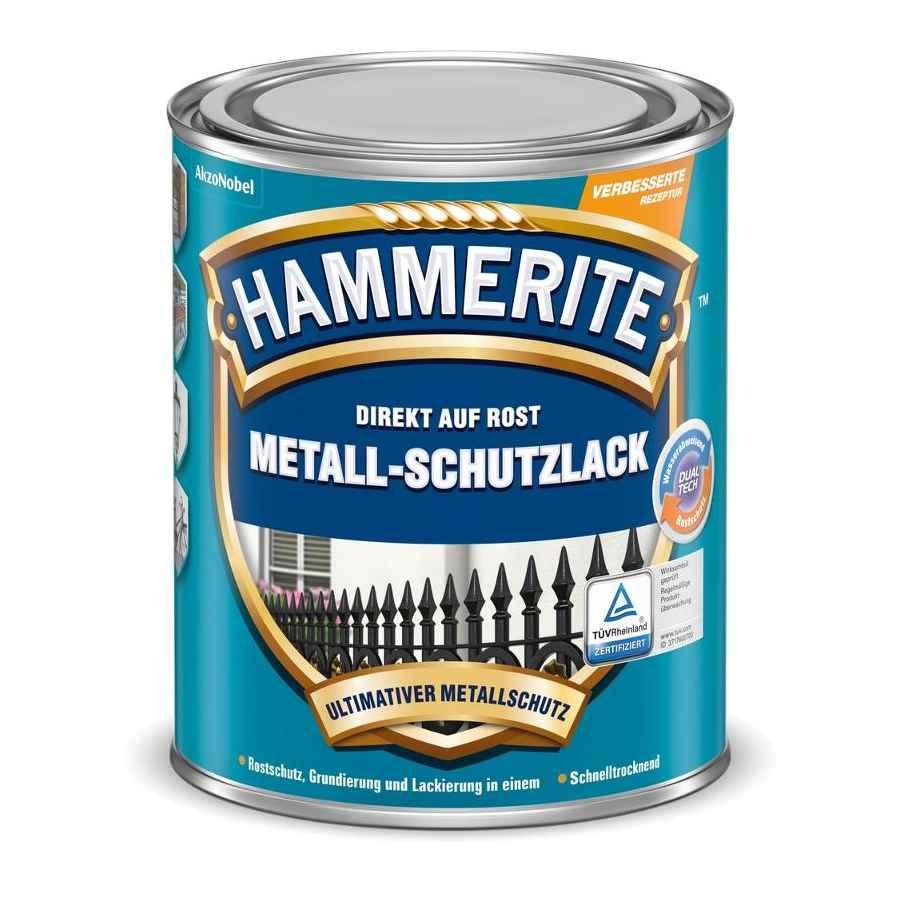 Hammerite Metall Schutzlack matt 0,750 Liter anthrazitgrau RAL 7016