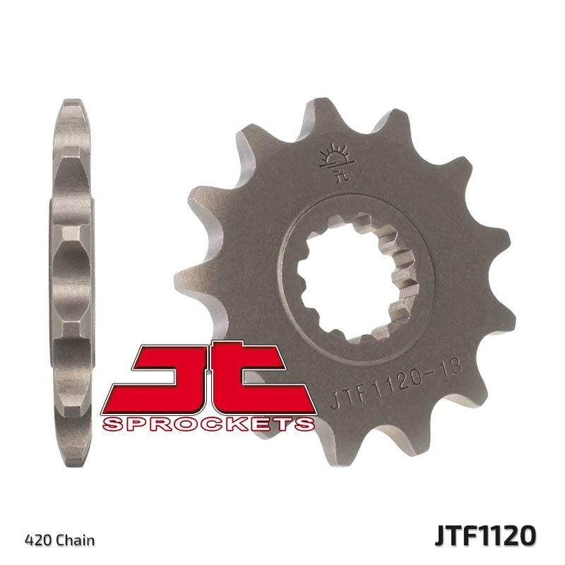 62 Z/ähne f/ür CPI SX SM 50 Kettenrad Ritzel 420